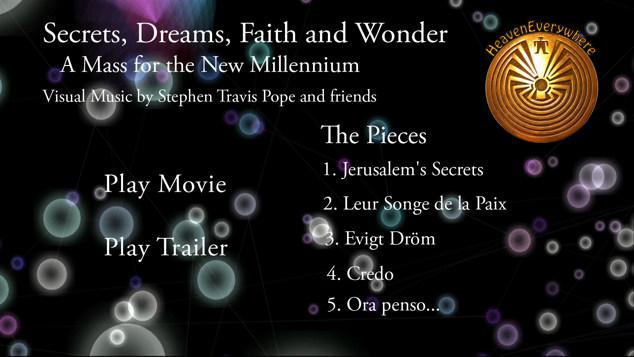 DVD menu